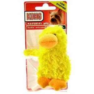 KONG Dr Noys Duckie - Extra Small Squeaker Dog Toy