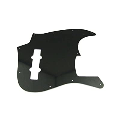 Musiclily Bass pickguard for US/Mexico Made Standard Jazz Bass