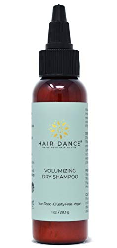 Dry Shampoo Volume Powder 100% Natural & Organic. For Blonde and Dark Hair. Logo/Label Look May Vary. Same product - new packaging Dry Hair Rose Shampoo