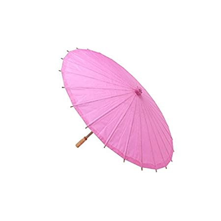 DISOK Parasol Papel Bamb/ú Blanco