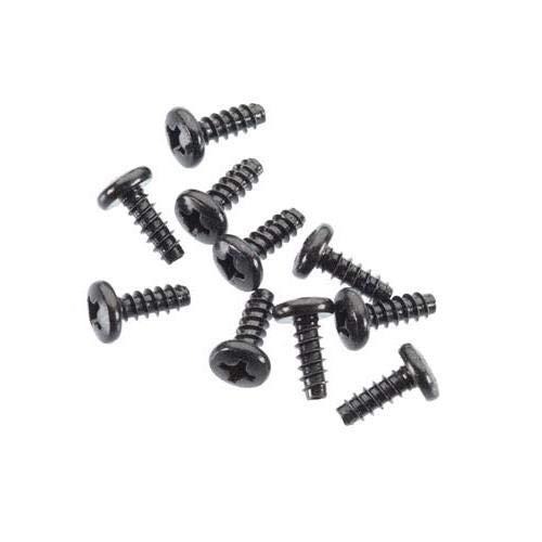 - M3x8mm Tapping Binder Head Blk : AX10 (10pcs)