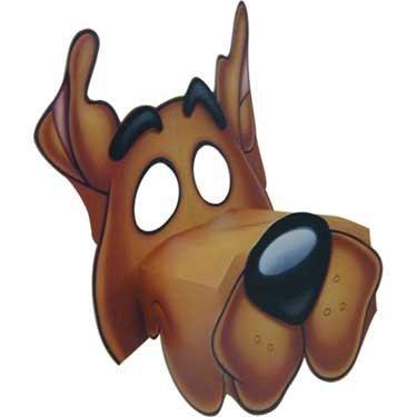 Scooby Doo Masks 4ct