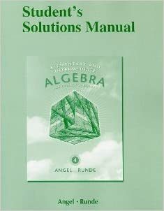 Book Student Solutions Manual for Elementary & Intermediate Algebra for College Students
