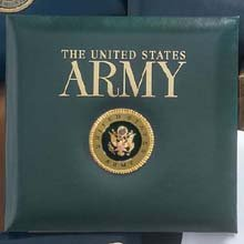 Army Scrapbook Album