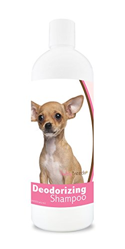 Chihuahua Formula - Healthy Breeds Deodorizing Dog Shampoo for Chihuahua - Over 200 Breeds - Hypoallergenic Formula - For Itchy, Sensitive, Dry, Flaking, Scaling Skin and Coat - 16 oz