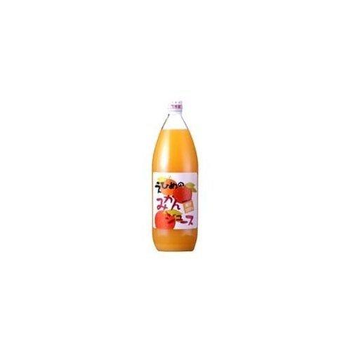 Ehime Prefecture, 100% fruit juice Hakata Ehime of mandarin orange juice 1LX6 pcs set
