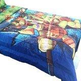 Teenage Mutant Ninja Turtles Twin-Full Bed Comforter Time to Shell Up Bedding