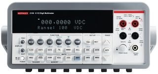 Keithley 2100/ 120 Digital Multimeter Set to 120V, 6-1/2 Digit