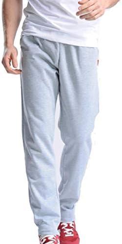 Romancly メンズクローズドボトムカジュアルパンツ基本スタイル巾着ジョガーパンツ