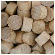 WIDGETCO 3/8'' Maple Wood Plugs, End Grain