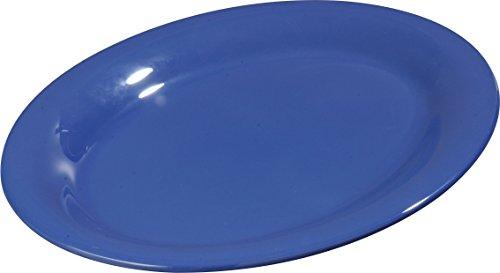 Carlisle 3308214 Sierrus Melamine Oval Serving / Dinner Platters, 12