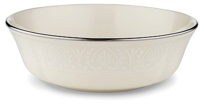 Lenox Courtyard Platinum Ivory China All Purpose Bowl