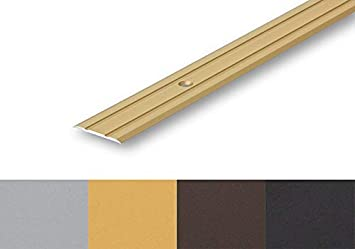 selbstklebend 1180 mm, silber /Übergangsprofil Nahtdeckprofil 25 mm flach selbstklebend 6,60/€//m in 4 Eloxalfarben