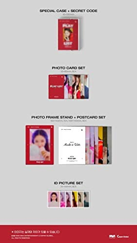 Fantagio CHUNGHA - 2021 Season's Greetings Play List + extra set fotokaarten