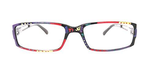 Unique HAND PAINTED Ladies Reading Glasses Women Designer Eyeglasses +2.25 G