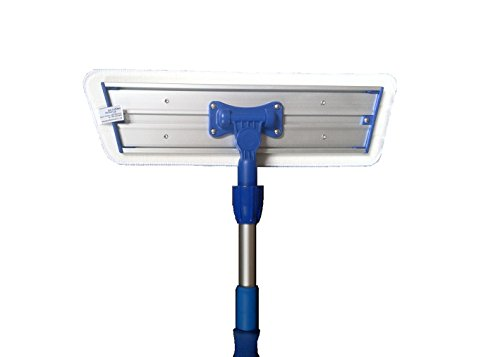 Real Clean 16 inch Professional Commercial Microfiber Mop With Two 16'' Microfiber Mop Pads and Aluminum Mop Frame and Handle by Real Clean (Image #1)