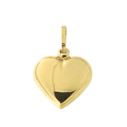 - Beauniq 14k Yellow Gold Heart Pendant