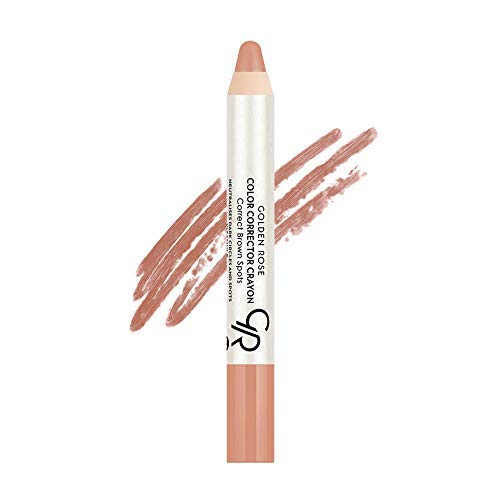Golden Rose Color Corrector CC Pencil Peach Fix Dark Circles and Spots
