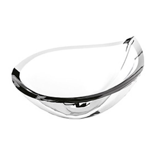 Orrefors Drop Small Bowl, 9-7/8-Inch