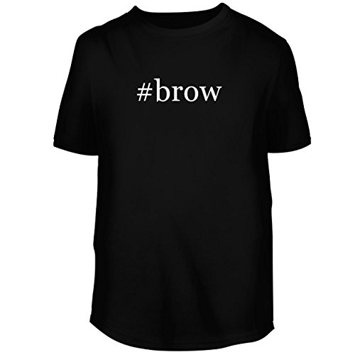 BH Cool Designs #brow - Men's Graphic Tee, Black, XXX-Large