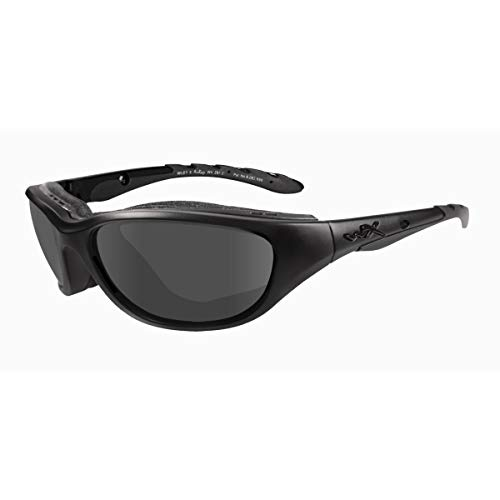 Wiley X Airrage Sunglasses, Smoke Grey, Matte Black