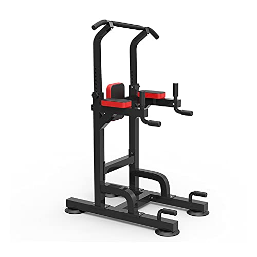 AWANG Power Tower Multi Pull Up Dip Station Dip Stand, In hoogte Verstelbare Pull Up Bar Workout Dip Station voor Thuis…