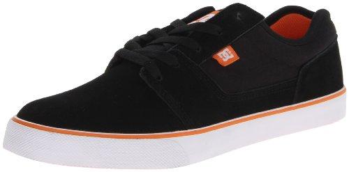 DC TONIK M SHOE GG4 302905-GG4 - Zapatillas de cuero para hombre Black/Blaze Orange