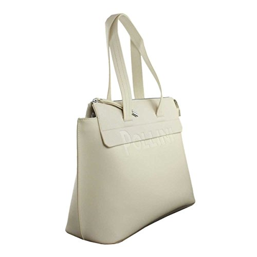 BORSA DONNA POLLINI SHOPPING BAG BEIGE SC4537 118