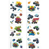 Blaze and the Monster Machines Tattoos 8 Tattoo squares