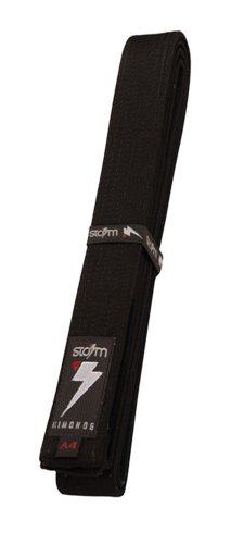 Storm Kimonos Deluxe Belt, Black, Adult 3