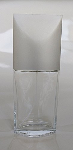 (7 Degrees North 85 ml (2.85 oz) Large Thick Glass with Platinum Cap Empty, Refillable Perfume/Cologne/Splash Replacement Spray Bottle with Fine Mist Atomizer)