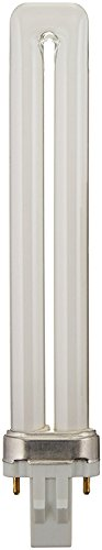 Plusrite #4010 PL13W/1U/2P/835 13 wat Single-Tube Compact Fluorescent Lamp, 2-Pin (GX23) base, 3500K, 800 lumens, 10,000hr life
