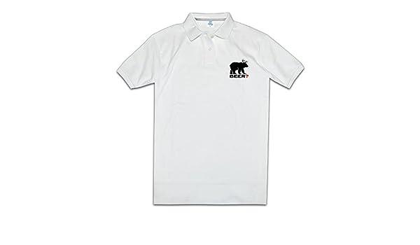 Cerveza Animal amante regalo Fashion Polo camiseta de hombre ...
