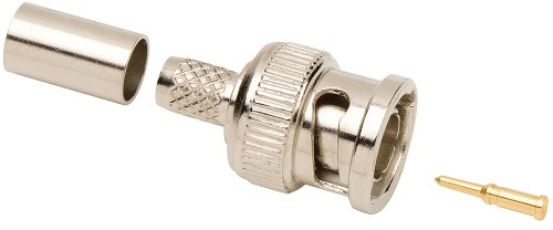 - Allen Tel GBNC-108B-75 75-Ohm BNC Male Coaxial Crimp Connector for RG-59/RG-62, 1-Pack