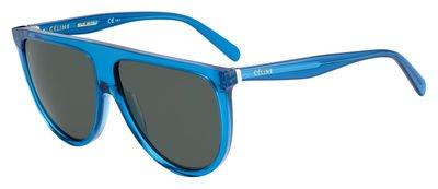 Sunglasses Celine 41435 /S 0T91 Teal / 85 gray green - Glasses Shadow Celine