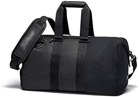 多機能ポータブルゴルフの服バッグユニセックス大容量ボストン服バッグハンドバッグ PU素材4色のオプション HMMSP (Color : C)