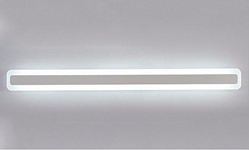 Vanme Edelstahl Spiegel Lampe Einfache Moderne Led Dusche Leuchten ...