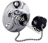 Perko 0504DP099A SPARE CAP W/CHAIN FOR 504DPCH ()