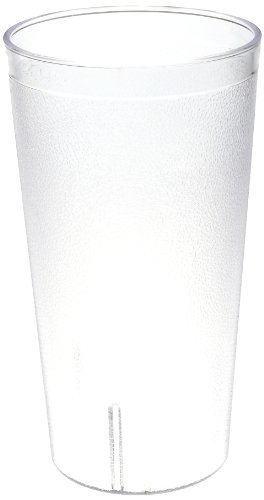 Colorware Clear Plastic Tumbler (Cambro 3200P2 32 oz Capacity, 3-15/16