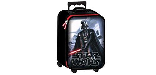 Star Wars Darth Vader with Light Saber Hard Pilot Case Rolling Luggage