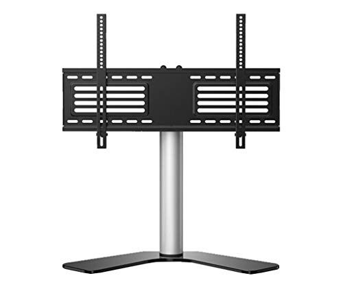 (TV Stand Table Pedestal Bracket LCD/LED TV 32-65 Inch Swivel Height Adjustable Stand)