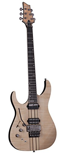 Schecter BANSHEE ELITE-6 FR Sus LH Solid-Body Electric Guitar, Gloss Natural