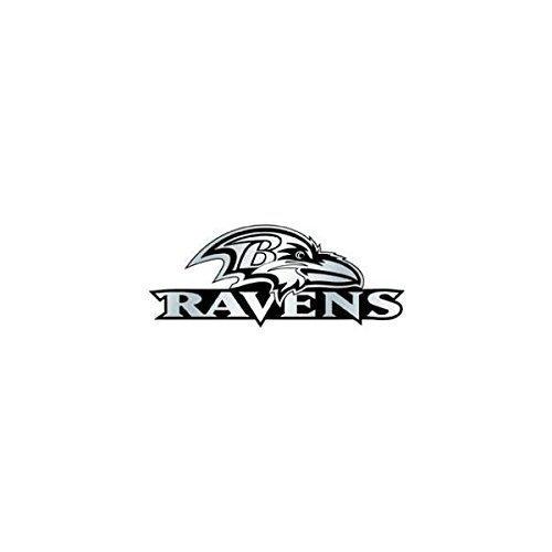Baltimore Ravens Car 3D Chrome Auto Emblem