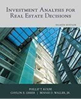 Investment analysis for real estate decisions 7th pdf files affin investment management