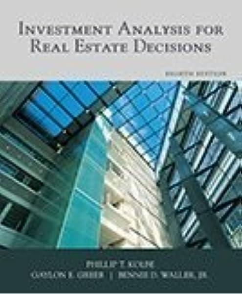 Real estate investment decision analysis stanford rahsia forex v2