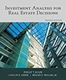 Investment Analysis for Real Estate Decisions 8th Edition