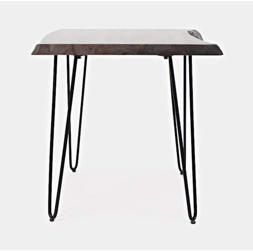 Jofran Nature's Edge Solid Acacia Square End Table