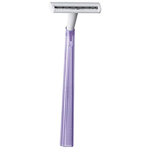 BIC Silky Touch Women's Twin Blade Disposable Razor, 2 Pack (80 Count)