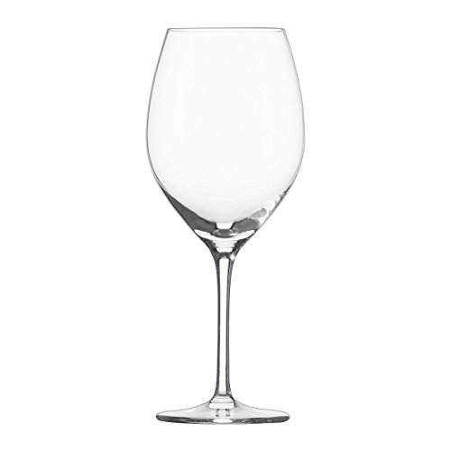 Schott Zwiesel Tritan Crystal Glass Cru Classic Stemware Collection Chardonnay White Wine Glass, 13.8-Ounce, Set of 6 (Wine Glass Collection)