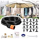 REDTRON 32.8FT Mist Cooling System, Patio Misting System with 10 Misting